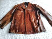 next gents leather jacket XL