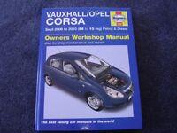 Vauxhall Corsa Haynes Workshop Manual .