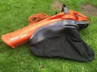 FLYMO Garden Vac 1500 plus leaf blower & vaccum