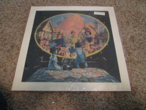 DISNEYANA-1983 -Charles Boyer Ltd Edition Lithograph-Disney World Dreams