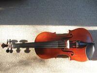 Lowendall 4/4 violin and black hardcase