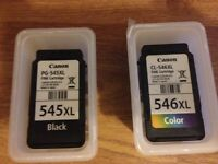 1 black ink and 1 colour ink cartridge