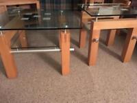 Lamp/coffee table