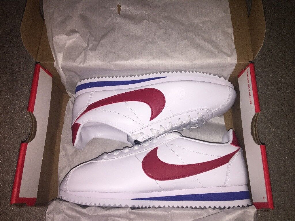 the latest 6d37f e913e Brand New Unworn Nike Womens Classic Leather Cortez Shoes size 4.5 UK