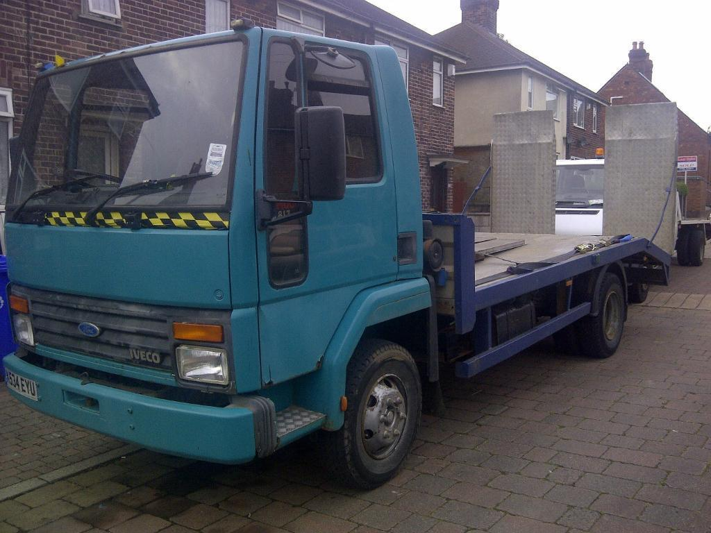 Ford Cargo 0813 K Reg Recovery Plant Truck In Stoke On Trent