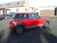 MINI ONE 3DR 58 REG MOT AUG 17 FSH VGC CAR NEW COOPER S ALLOYS NEW ALL WEATHER RADIALS ALSO