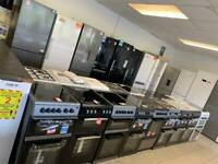 Jd684 new/graded fridge freezers from £135 free local delivery