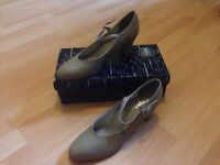Tan character shoes for sale