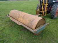 Tractor 8ft land field paddock roller in great order