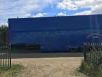 Double deck articulated trailer - tri axel - good condition - no M O T - £2200
