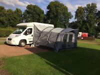 Sun camp Tourer Plus 335 Drive Away Awning. Used once only Excellent when you need more room.