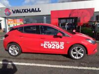 Vauxhall Astra SRI (red) 2016-06-23