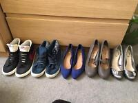 ***WOMENS HEELS AND HIGH TOPS**