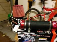 Racing cone and flexi pipe