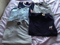 9 x mens shirts, large