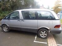 TOYOTA PREVIA 2.4 PETROL 7 SEATER, SILVER FOR SALE