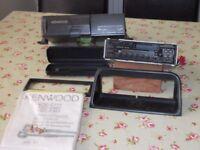 Kenwood radio and auto changer