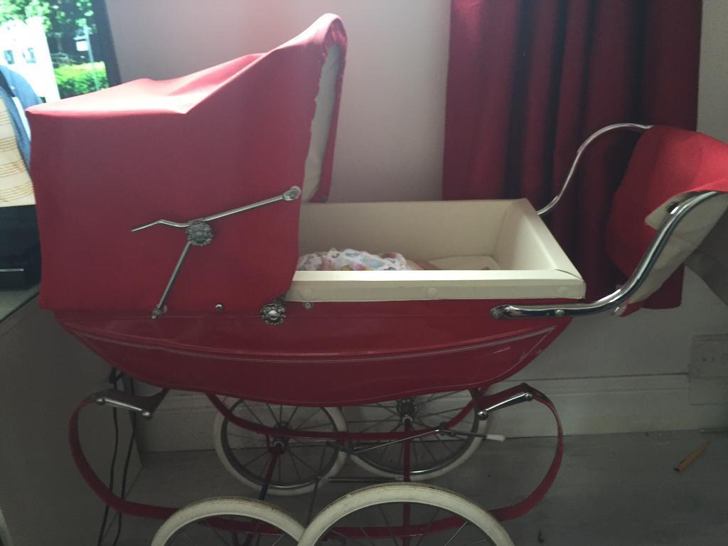 Silvercross dolls pram with reborn doll 350