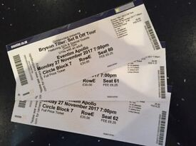 Bryson Tiller Tickets - Circle Seated x 3 tickets for Monday 27th Eventim Apollo