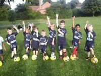 TC SOCCER TOTS GROUP - AGES 4-6 BOYS/GIRLS WANTED