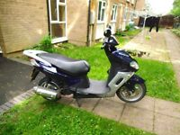 I am selling my qingoi matrix 125 spare or repairs still mot next year it still runs .