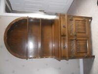 Old Charm Light Oak Welsh Dresser