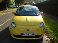 Fiat 500 1.2 Pop - Tropicalia Yellow - low mileage