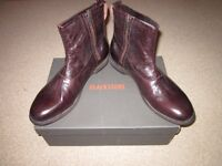 Men's Blackstone Leather Boots size 43