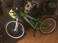 Boys carrera mountain bike