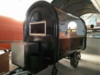 Mobile Catering Trailer Burger Van Grill Hot Dog Food Cart Ready to Work