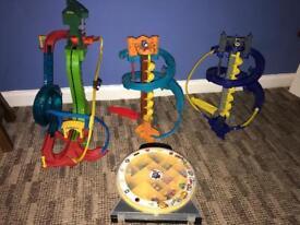 Thomas mini tracks 1x motorised motorised track and 2x mini tracks