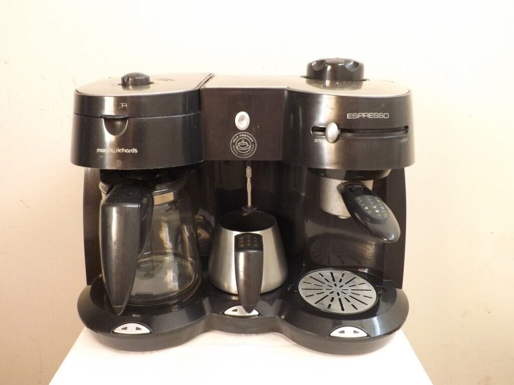 Morphy Richards Mister Cappuccino Espresso And Filter Coffee Maker Wit In Portaferry County Down Gumtree