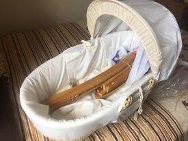 Baby cot basket £20