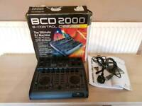 Behringer BCD2000 USB DJ mixer boxed with instructions