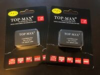 TOP-MAX® 2X LP-E12 Li-ion Battery for Canon EOS M/EOS-M/EOS 100D & Charger