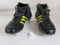 Adidas 'Flanker' Rugby Boots size 10 1/2
