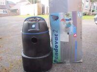 Garden pond vacuum cleaner.