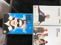 The office UK both seasons and Ricky gervais Fame
