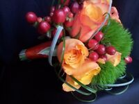 Natural and atificial floral arrangements for all occasions: weddings, christening, birthdays