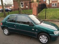 Green Peugeot for sale