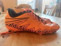 Nike hypervenon football boots size 5