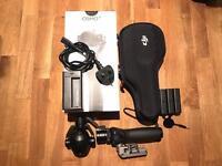 DJI Osmo Plus + Zoom 4k camera 3 axis gimbal