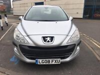 Peugeot 308 Auto 1.6 petrol (1 months warranty) cheap cars