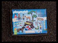 Children's playmobil equestrian set