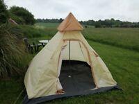 Tent wigwam good condition