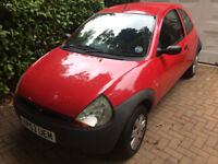 Ford Ka(03) suitable for fixing up £200; or for parts inc 2 new unused wheels with tyres for £250