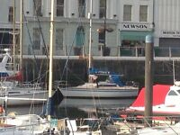 28' Sailing Yacht for sale: New inboard engine and fully refurbished