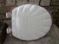 Toilet seat - Shell moulded wood seat BRAND NEW