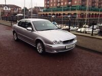 JAGUAR X TYPE 2.5 V6 MANUAL 4 DOOR SALOON (LOW MILEAGE)