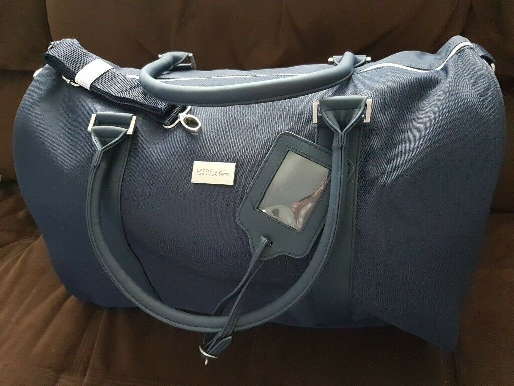 52efa87d9 LACOSTE brand new travel bag